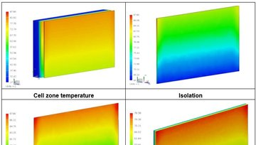 Report: Report on simulation work for  crystalline-silicon based BIPV elements