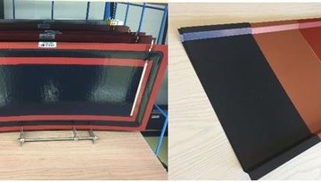 Report: Samples for validation testing of CIGS-based BIPV design solutions