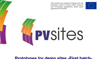 Report: Prototypes for demo sites -First batch-