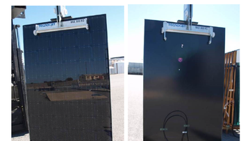 Report: Opaque PV glazing solutions based on c-Si with hidden busbars and L interconnections